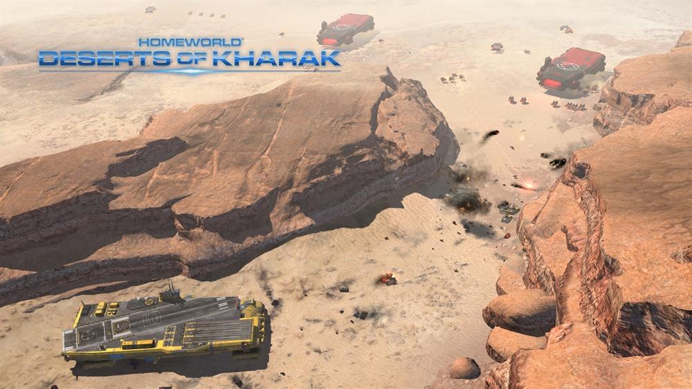 Homeworld Deserts of Kharak Download Poster