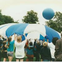 Parachute Games Ball Bounce