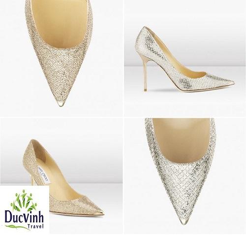 5 gợi ý kiểu giày tuyệt đẹp cho cô dâu