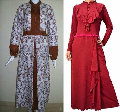 24 Model Baju Batik Pesta Wanita Muslim Modern Elegantria Model