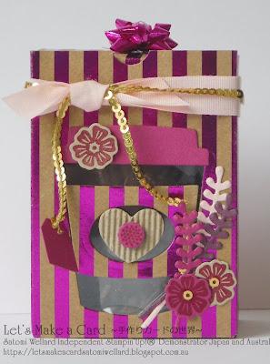 Occasions Catalogue Making boxes with Gift Bag Punch Board Satomi Wellard-Independent Stampin'Up! Demonstrator in Japan and Australia, #su, #stampinup, #cardmaking, #papercrafting, #rubberstamping, #stampinuponlineorder, #craftonlinestore, #papercrafting, #handmadegreetingcard, #greetingcards  #giftbagpunchboard #boxmaking #giftwrapping  #スタンピン #スタンピンアップ #スタンピンアップ公認デモンストレーター #ウェラード里美 #手作りカード #スタンプ #カードメーキング #ペーパークラフト #スクラップブッキング #ハンドメイド #オンラインクラス #スタンピンアップオンラインオーダー #スタンピンアップオンラインショップ #動画 #フェイスブックライブワークショップ #ミニトリートボックス #ギフトバッグパンチボード