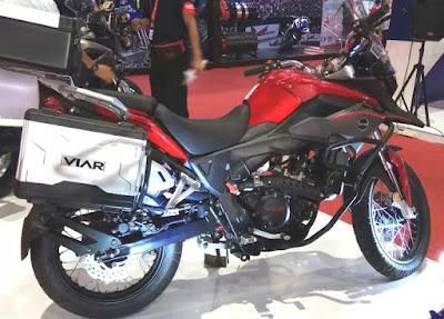Vortex 250 Hadir Sebagai Penantang Kawasaki Versys-x 250