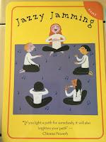 jazzy jamming activity in yoga pretzels game