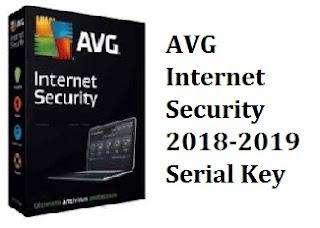 AVG internet security 2018 license key