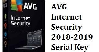 key avg internet security 2018