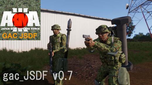 Arma3用自衛隊MODの01 式軽対戦車誘導弾とパンツァーファウスト 3