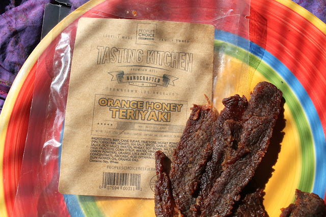 Orange Honey Teriyaki Beef Jerky by People's Choice