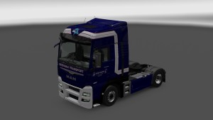 MAN Euro 6 Beekman Transport Skin