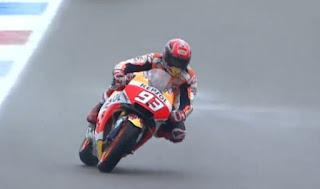 Hasil MotoGP Valencia:Marquez Tercepat FP3, Rossi P8