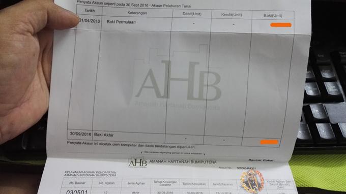 Info Pelaburan Unit Amanah AHB