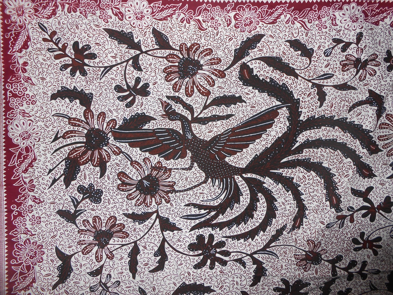 Koleksi Gambar Batik Fauna Hitam Putih