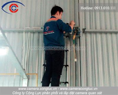 Chuyên nghiệp - nhanh chóng - hiệu quả cao là những ưu điểm của dịch vụ sửa chữa camera do Cộng Lực cung cấp.