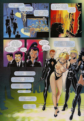 wet fetish revista de comic bdsm