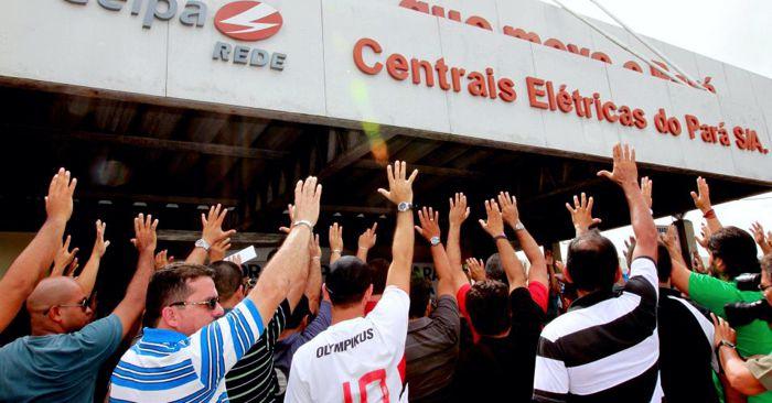 PROTESTO CONTRA CELPA: CONSUMIDORES REALIZAM PROTESTO HOJE EM MARABÁ - VEJA..