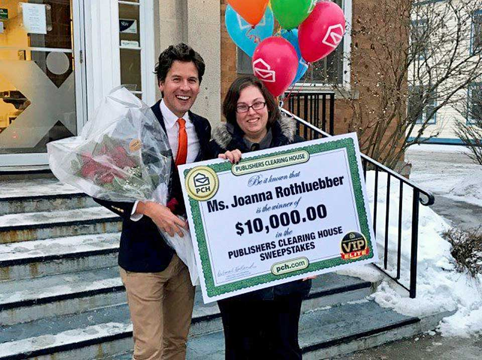 Publishers clearing house giveaway