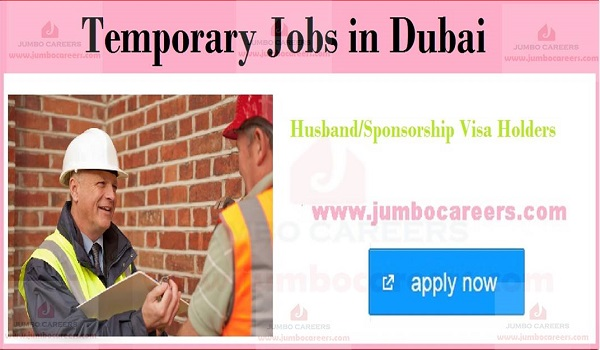 Latest Gulf jobs for husbent visa candiadtes, Recent jobs in UAE with salary,