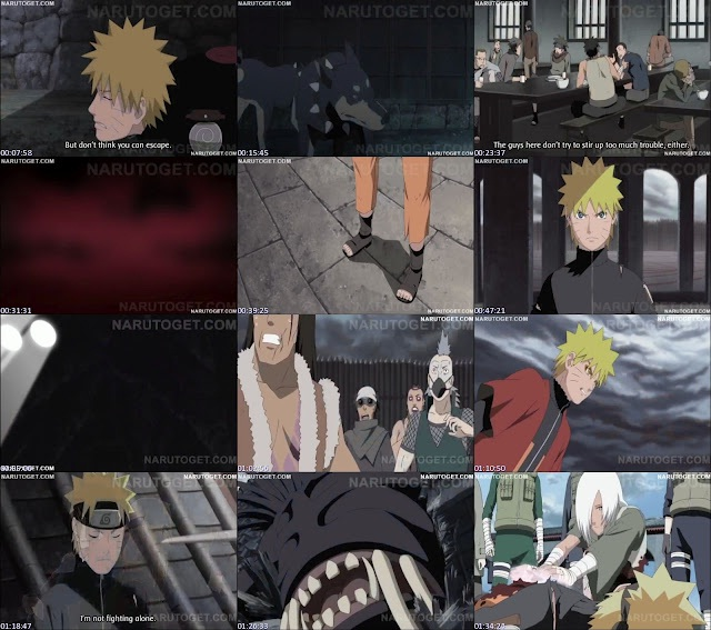 NarutoShippuden: Naruto Shippuden Blood Prison Full Movie