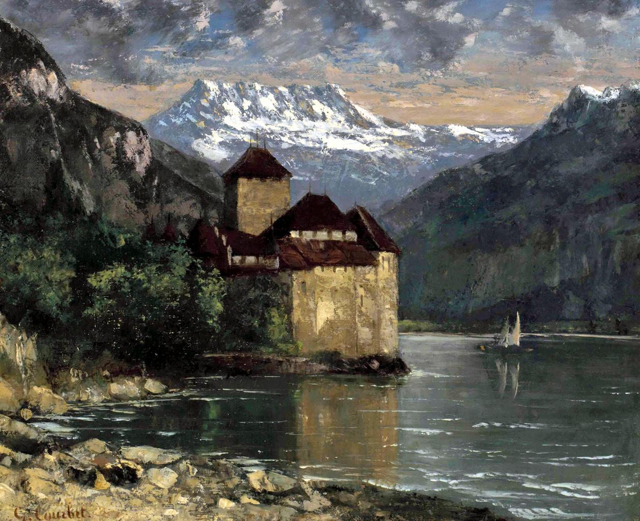 Peinture Française du 19ème Siècle: Gustave Courbet (1875)