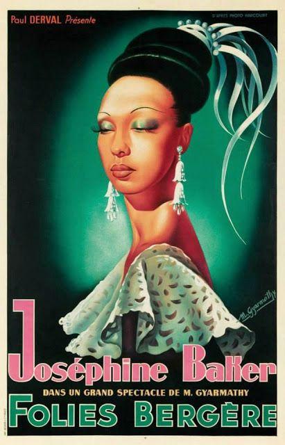 Joséphine Baker - Folies Bergère - Paris