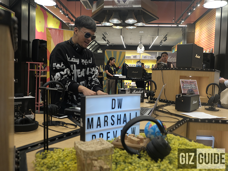 Digital Walker's Listening Room is where you can experience Marshall speakers and headphones!