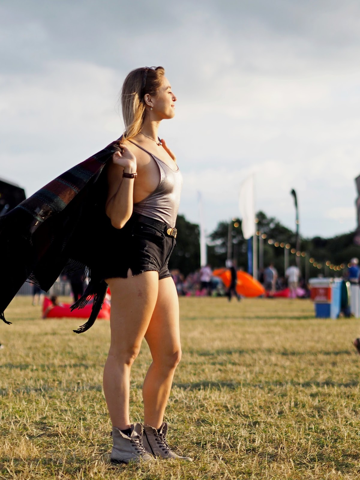 Girl at Festival