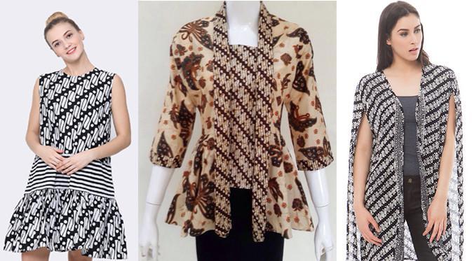 Ini Dia Beberapa Baju Batik Model Baru 2018 Wanita Dengan
