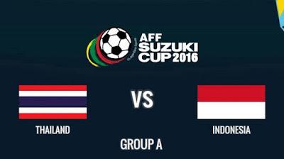Hasil Skor Thailand vs Indonesia Di Piala AFF Suzuki Cup 2016
