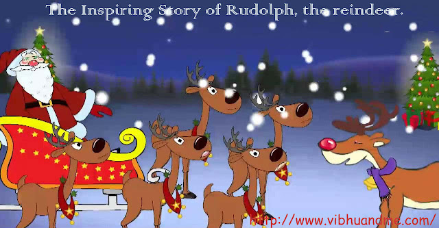 The Inspiring Story of Rudolph, The Reindeer by vibhuandme