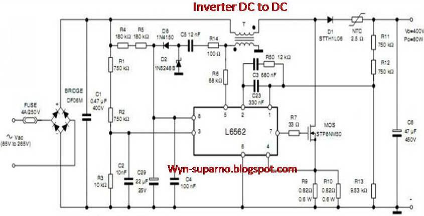 Ingin berbagi ilmu dan pengalaman hbbx 041a blok power supply lcd blok inverter menggunakan ic l6562 ccuart Image collections
