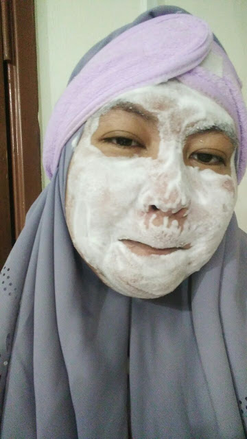 Review Althea Korea Milk Peel Cream Mask