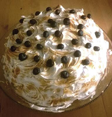 Coffee Meringue Cake James Martin