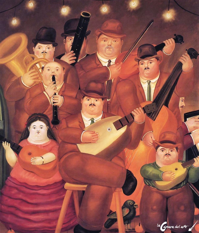 Los Músicos La Cámara Del Arte