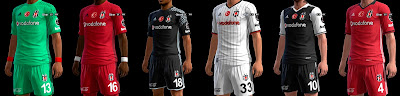 PES 2013 Besiktas GDB 2016-2017 by ABIEL