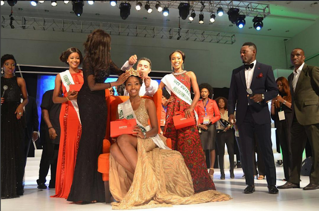Meet The New Miss Nigeria, Chioma Obiadi And Her Stunning Photos