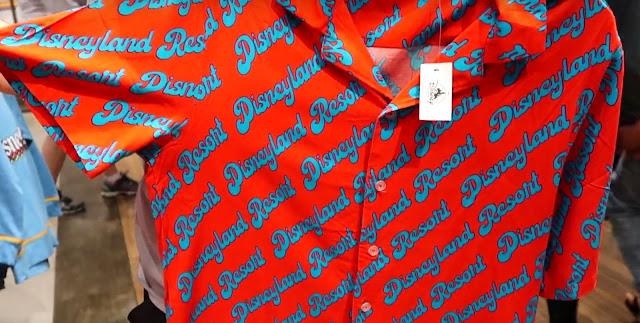 Ink & Paint 1955 Disneyland Resort button up shirt