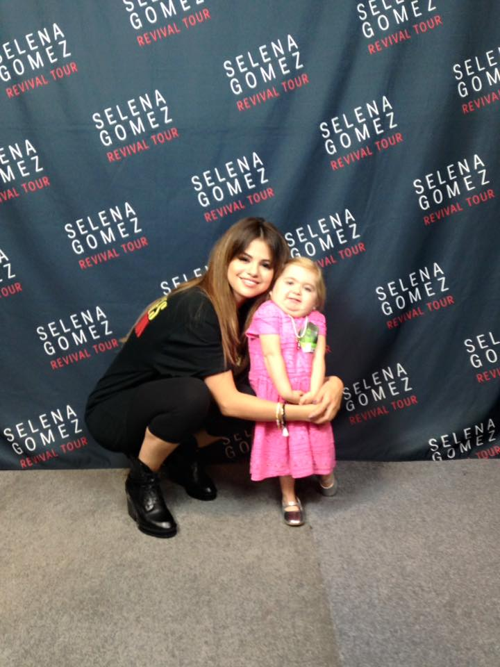 Selena Gomez has adorable dance off with fan suffering from rare illness