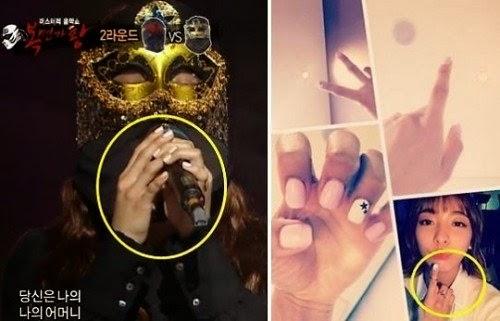 TV: Is the 'Masked Singer' Luna? ~ Netizen Buzz