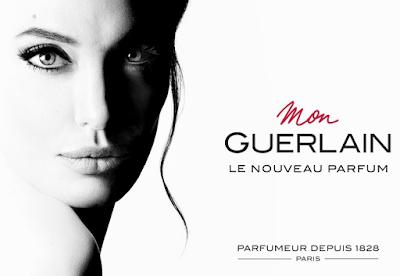 Mon Guerlain profumo con Angelina Jolie