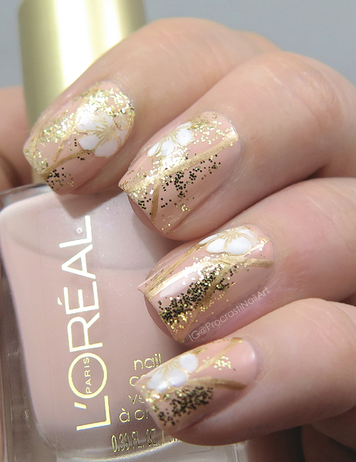Nail Art // Rich and Delicate Floral Stamping with L\'Oreal Paris ...