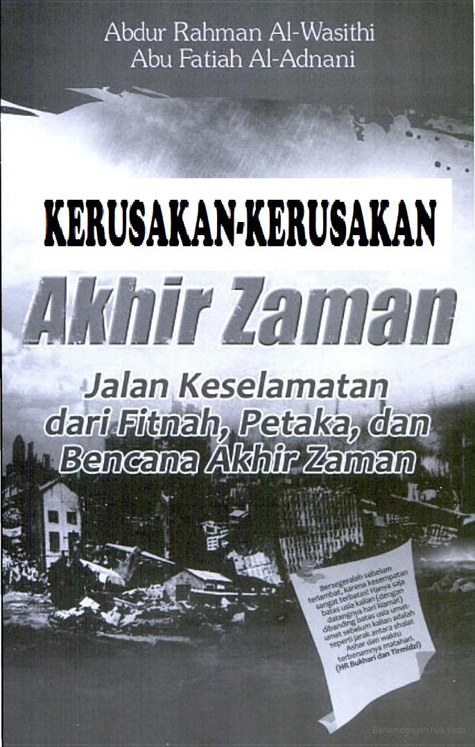 DOWNLOAD GRATIS E-BOOK KERUSAKAN AKHIR ZAMAN