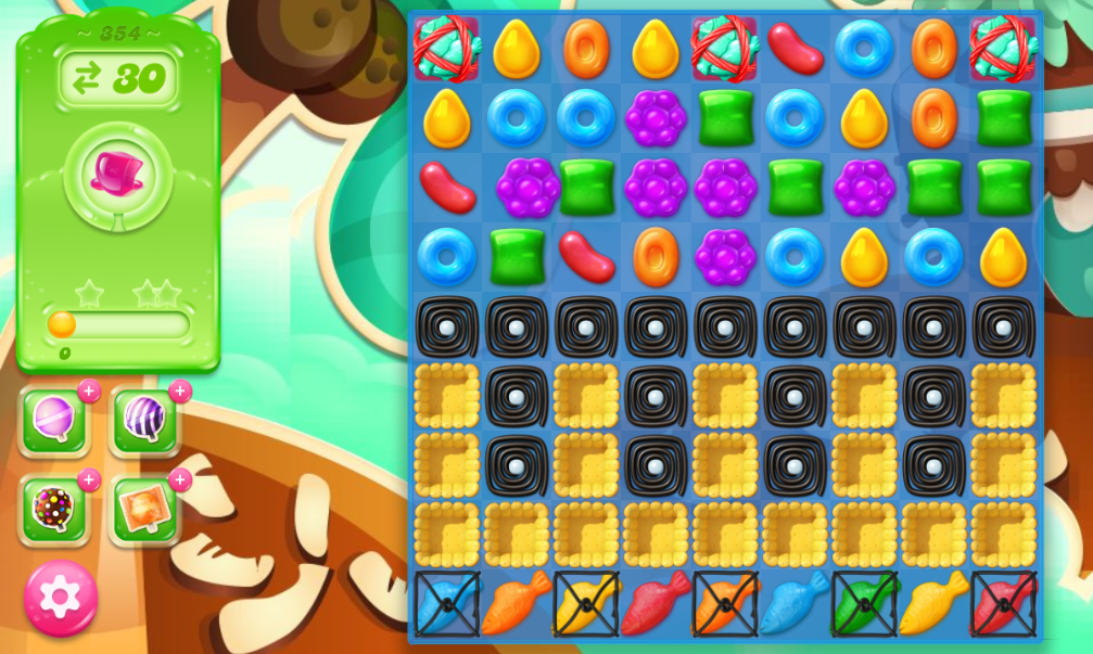 Candy Crush Jelly Saga 354