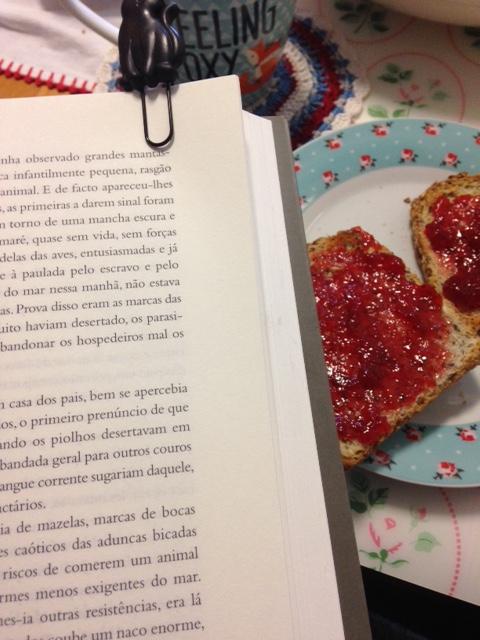pequeno almoço e leituras