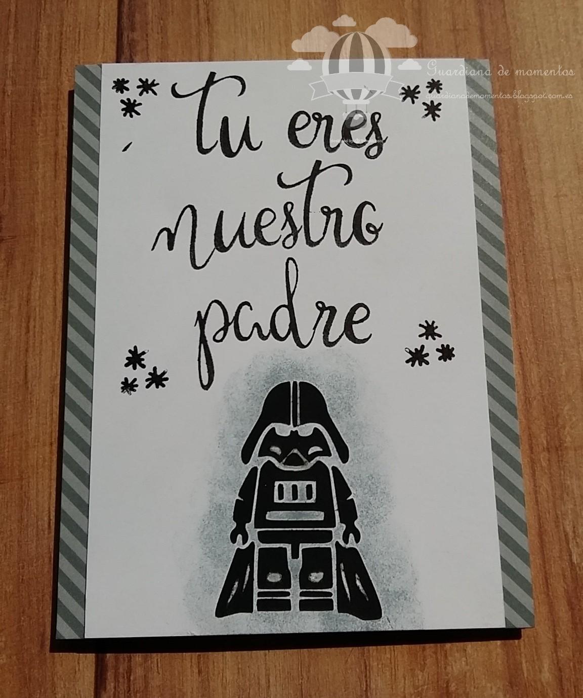 Guardiana de momentos tarjeta d a del padre - Ideas para regalar a un padre ...