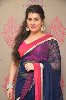 Archana Veda in a Kancivaram Saree Spicy Choli