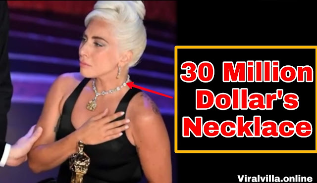 Lady Gaga Wore A Necklace Worth 30 Million Dollars in 2019 Oscar