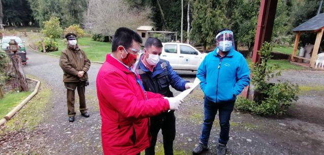 Inspección en Puyehue