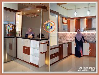 Desain Interior Terbaru Kitchen Set Minimalis Mewah Di Tulungagung