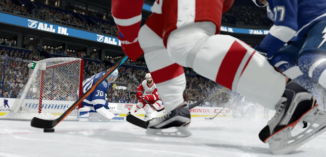 EA Ice Hockey game