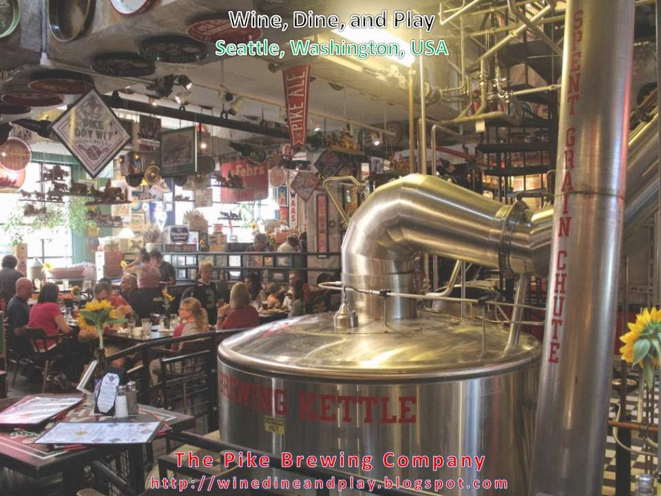Wine Dine And Play The Pike Brewing Company