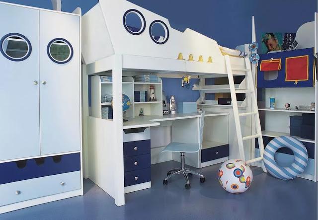 phòng ngủ bé trai - mẫu 10